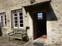 the door to the Meeting House